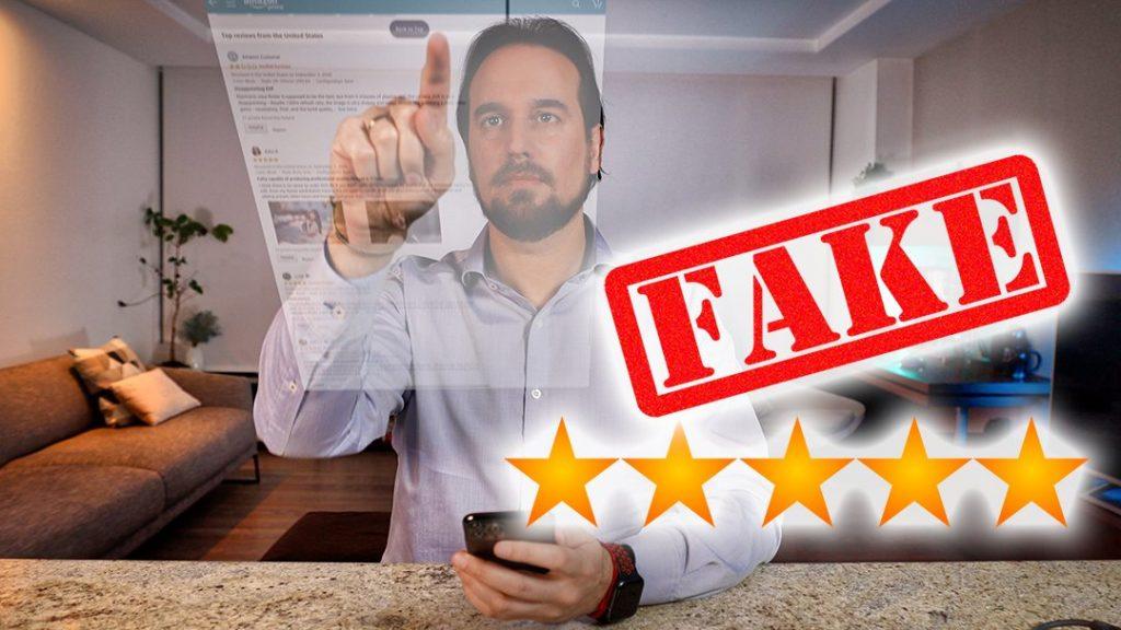 Fake reviews o Valoraciones falsas